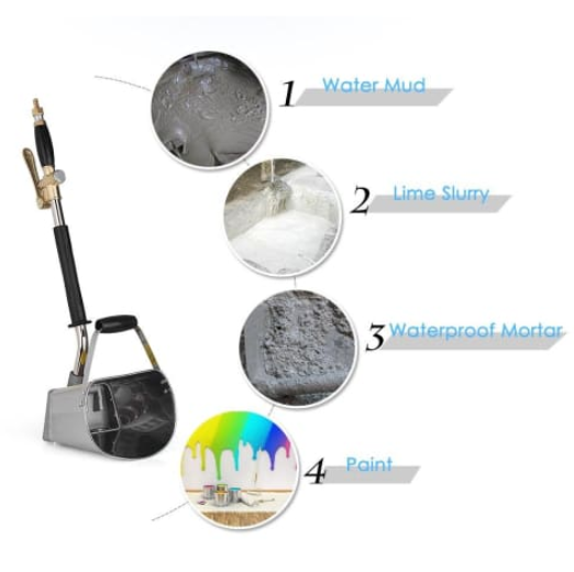 SPRAYCRETE MORTAR SPRAY GUN - GenieMania Fr