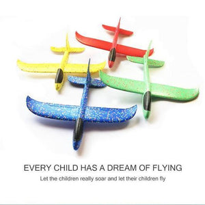 【50% OFF】Foam Plastic Flying Glider Airplane
