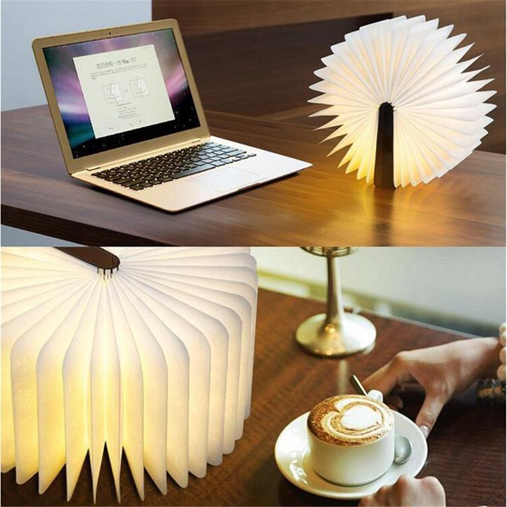 ( 50% OFF ) LED Folding Book Lamp