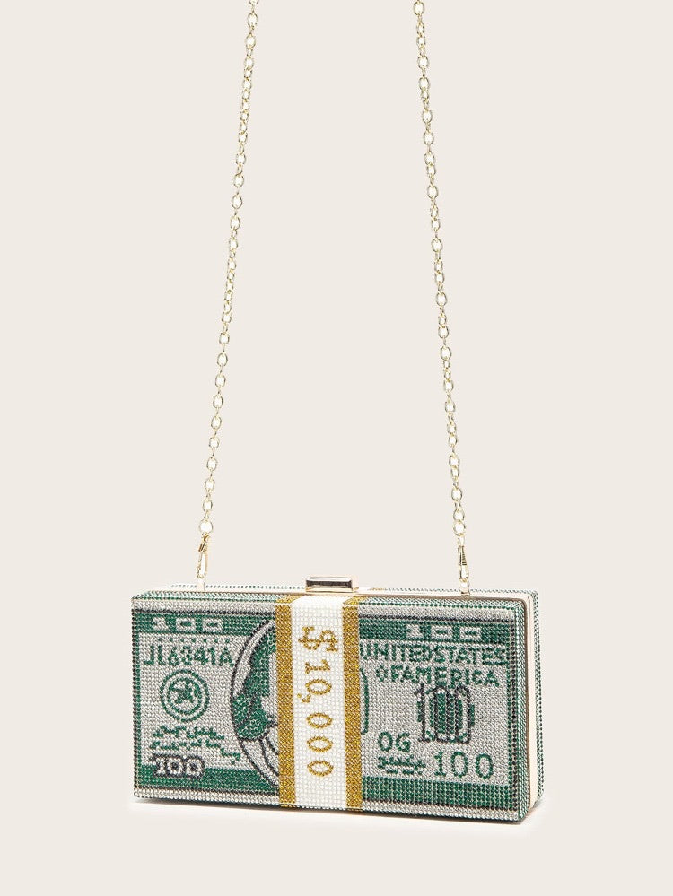 Square Money Clutch