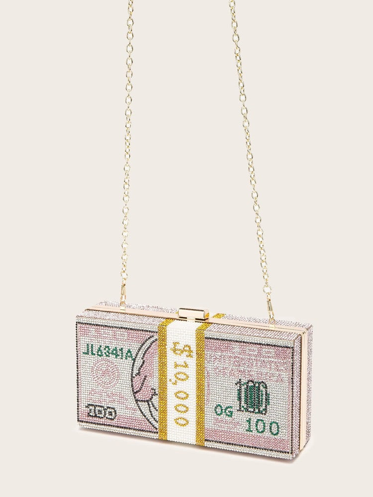 Square Money Clutch - Boutique Michaud LLC