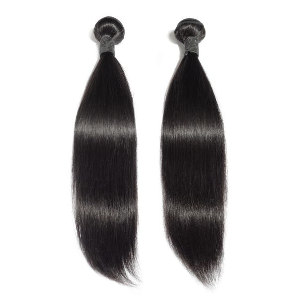 3 Piece Straight Brazilian Virgin Hair Bundle Deal - Boutique Michaud LLC