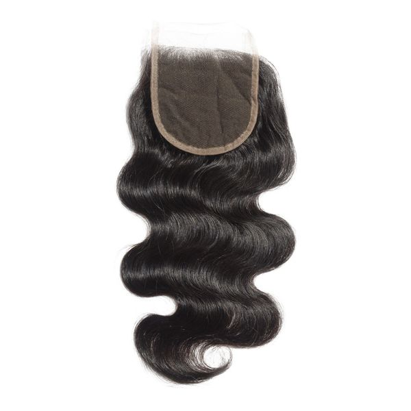 "4"" x 4"" Body Wave Free Part Lace Closure - Boutique Michaud LLC"
