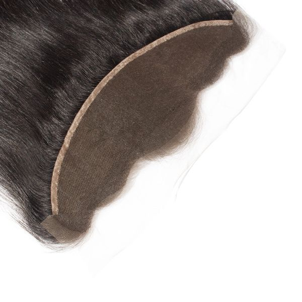 "13"" x 4"" Straight Free Parted Frontal - Boutique Michaud LLC"