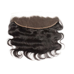 "13"" x 4"" Body Wave Free Parted Frontal - Boutique Michaud LLC"