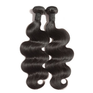 Body Wave Virgin Brazilian Hair Single Bundles - Boutique Michaud LLC