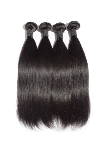 Straight Brazilian Virgin Hair Single Bundles - Boutique Michaud LLC