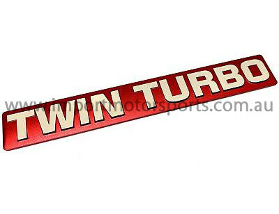 Genuine Nissan OEM - RB26 Twin Turbo Emblem