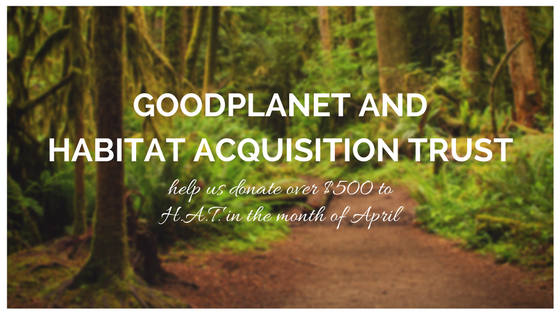 GoodPlanet is partnering with HAT!