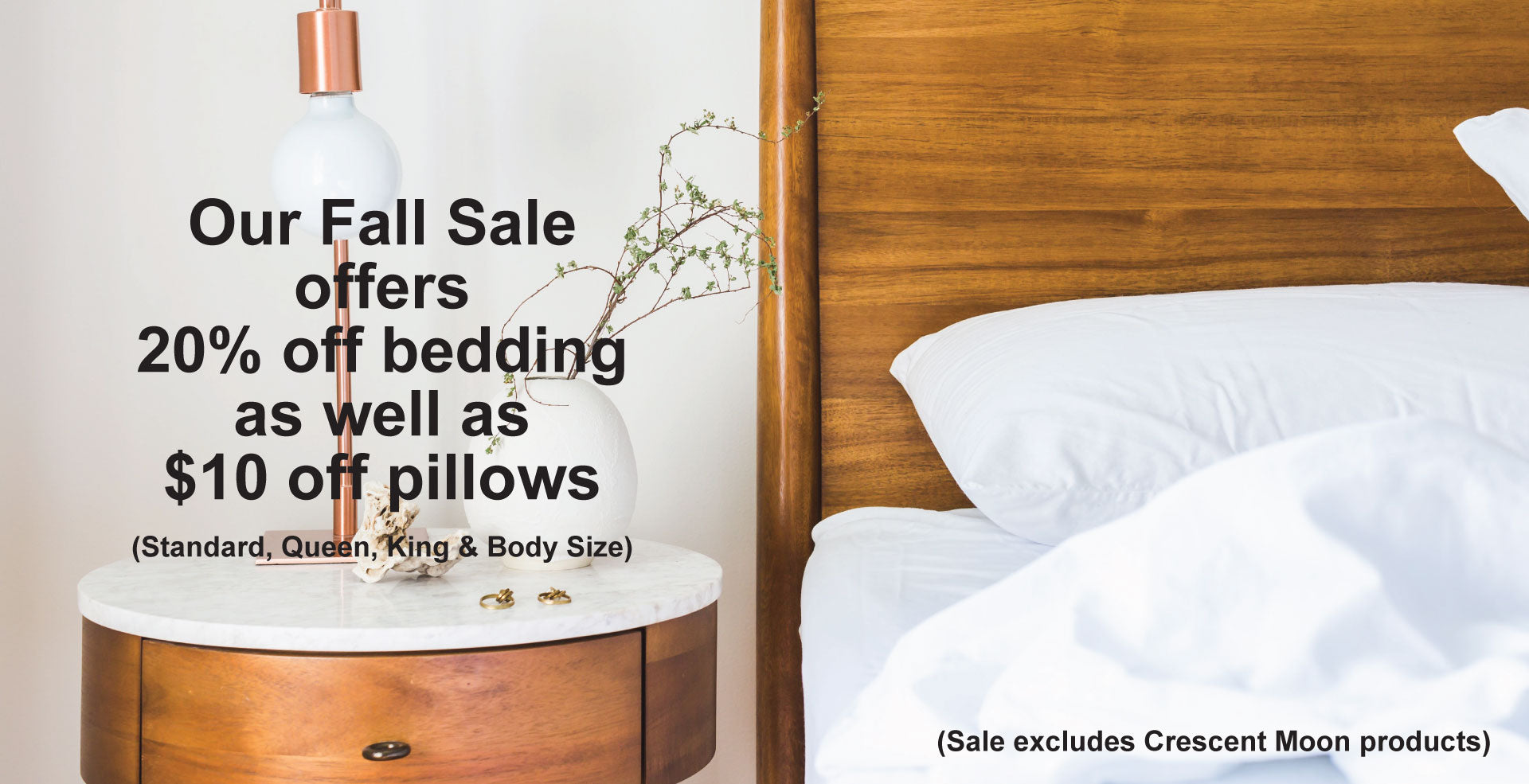 FALL BEDDING SALE