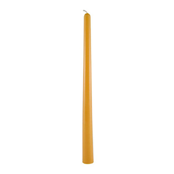 Beeswax Taper Candle 12""