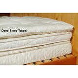 Deep Sleep Wool Topper by Holy Lamb (2 Inch)