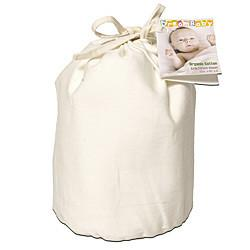 Dream Designs Natural Cotton Fitted Crib Sheet / Natural
