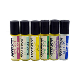 Aromatherapy Roll On Wellness Blends