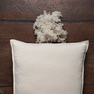 Pasha Organic Wool Pillow by Sleeptek