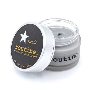 routine. Natural Deodorant - Activated Charcoal (58g)