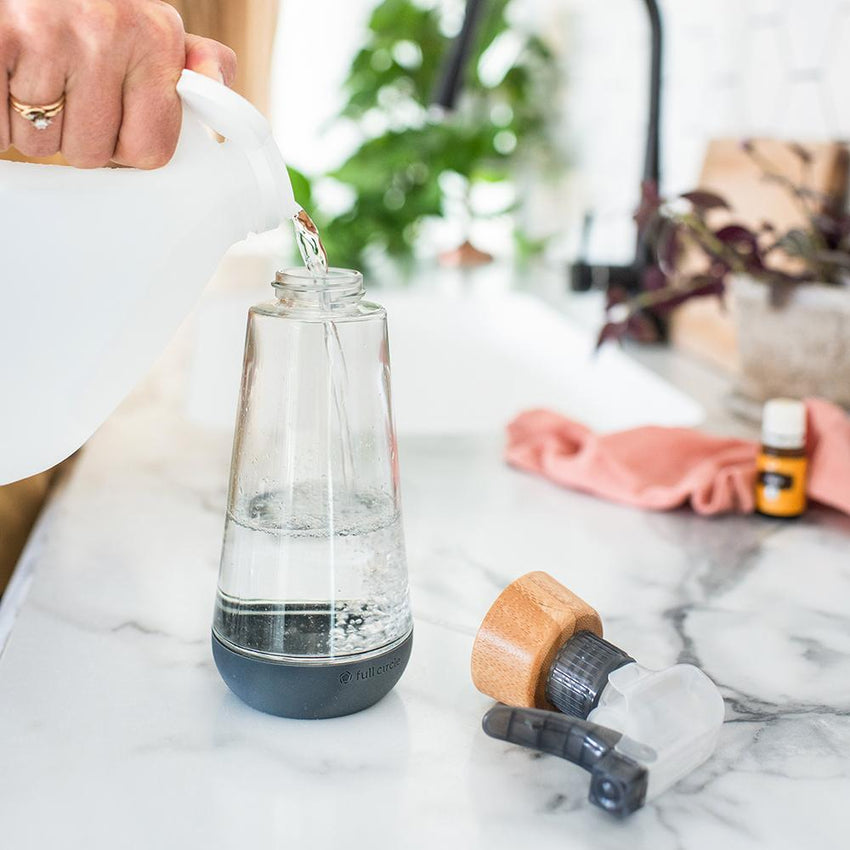 Refillable Glass Spray Bottle by Full Circle