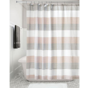 Wide Stripe Shower Curtain
