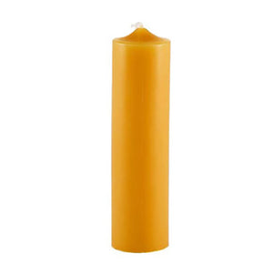 Beeswax 6 Inch Column Candle
