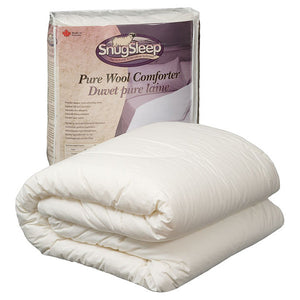 Classic Wool Duvet (Summer Weight) by SnugSleep