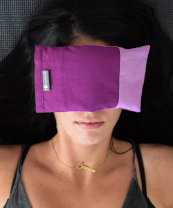 Amethyst Crystal Eye Pillow