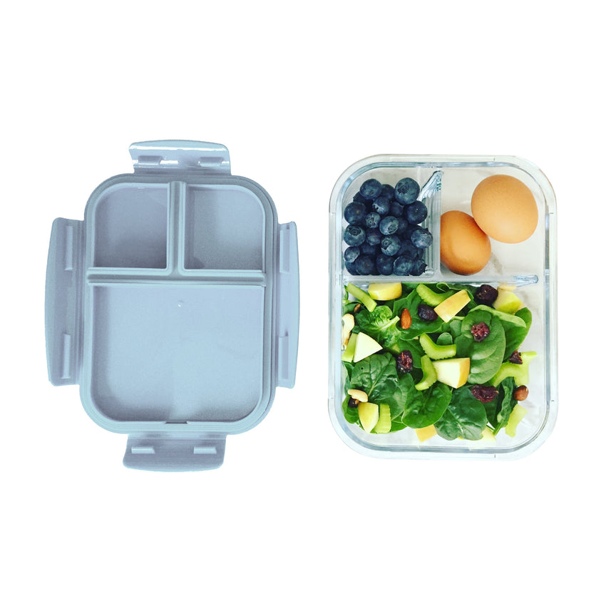 Glass Bento - 3 Compartment