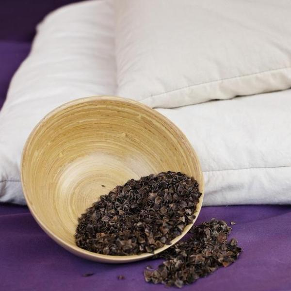 Organic Buckwheat Pillow (No Wool) by Dream Designs