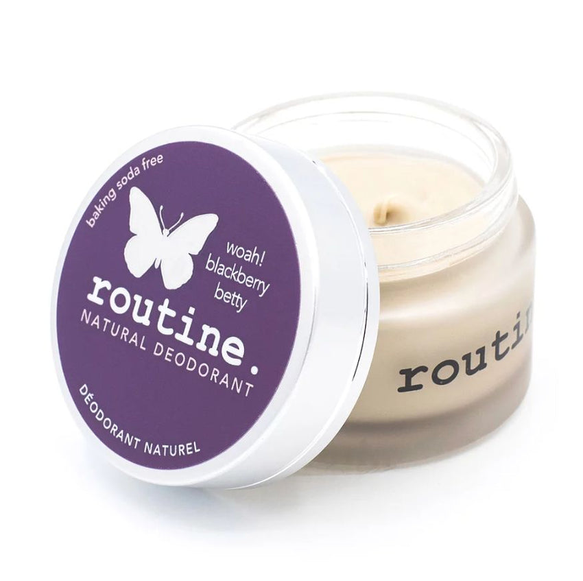 routine. Natural Deodorant - Baking Soda Free (58g)