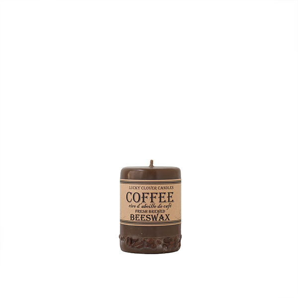 Lucky Clover Beeswax Candles / Coffee