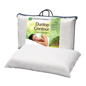 Nature's Embrace Rubber Contour Pillow