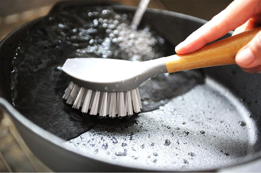 Cast Iron Cleaning Brush