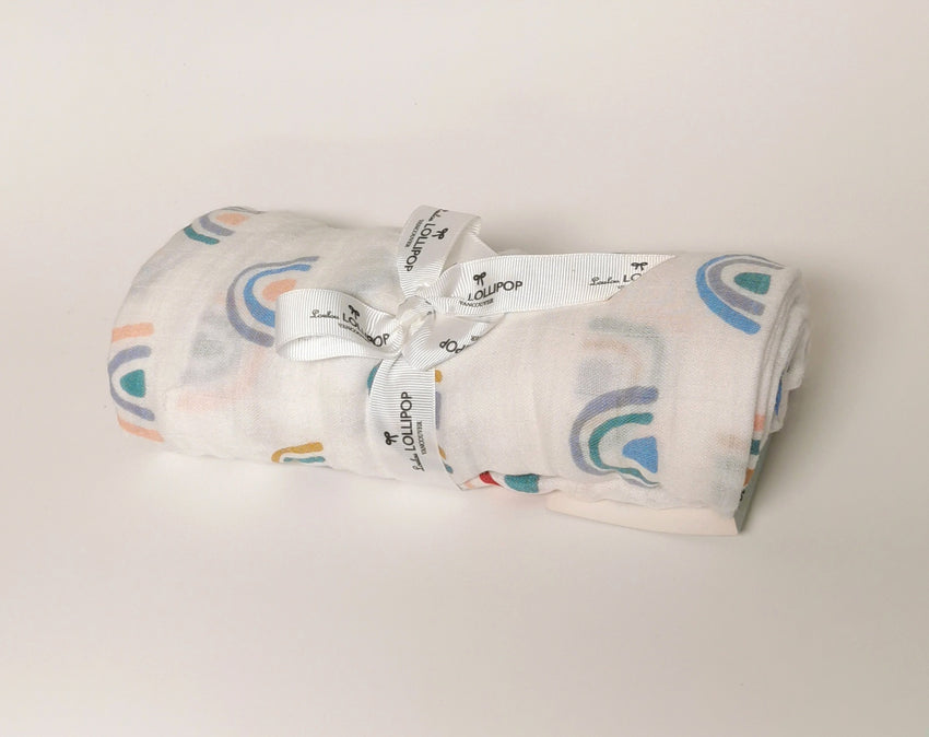 Printed Bamboo Swaddle