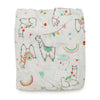 Printed Bamboo Muslin Crib Sheet