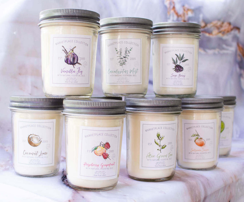 Natura Soy Marketplace Jar Candle