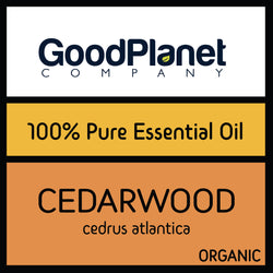 ORGANIC CEDARWOOD ESSENTIAL OIL