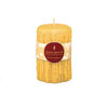 Natural Heritage Drip Pillar Beeswax Candles 5""