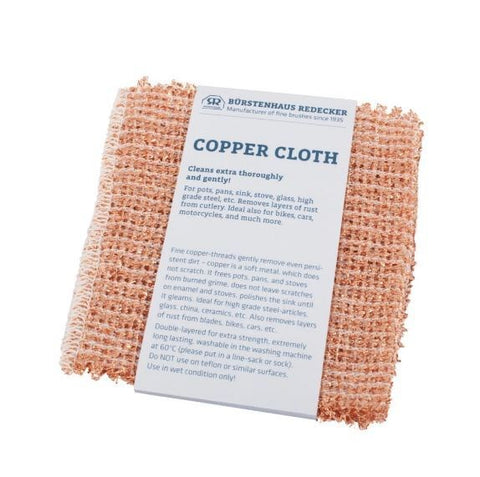 Copper Cleaning Cloths (Set of 2)