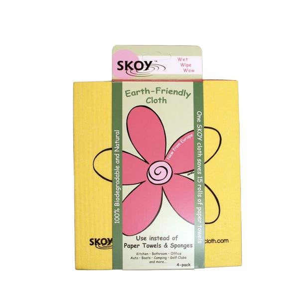 Skoy Earth Friendly Cloth 4-Pack