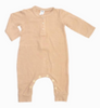 Bamboo Ribbed Long Sleeve Romper