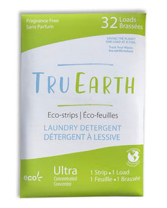 TruEarth Laundry Strips (32 Pack) / Unscented