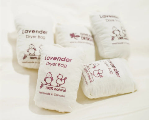 Lavender Dryer Bag by Dream Designs