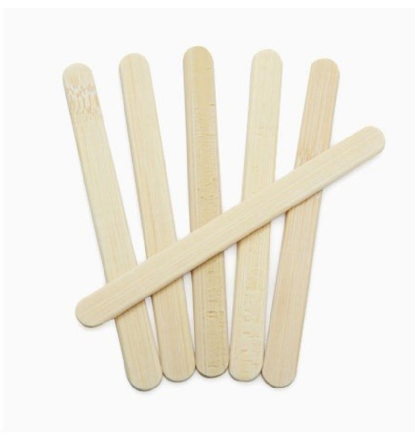 Onyx Bamboo Popsicle Replacements Sticks