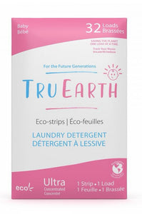 TruEarth Laundry Strips (32 Pack) / Baby