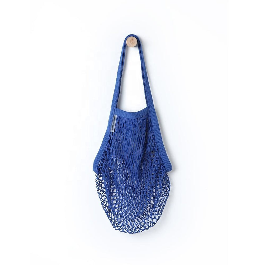 Coloured Cotton Market String Bag