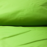 Organic Solid Colour Sateen Duvet Cover by Dream Designs