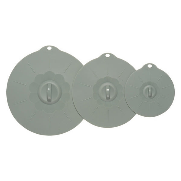 Silicone Suction Lids (set of 3)