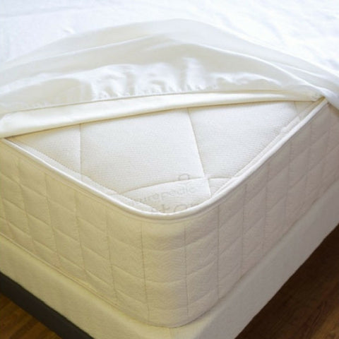 Waterproof Fitted Organic Mattress Protector Pad by Naturepedic