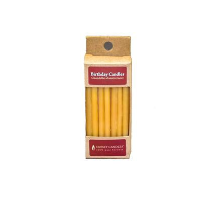 Beeswax Birthday Candles (Pack of 20) / Natural