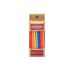 Beeswax Birthday Candles (Pack of 20) / Royal