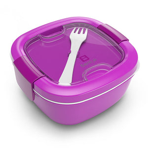 Bentgo Salad On-The-Go Salad Container Purple